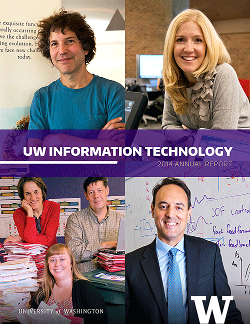 UW-IT 2014 Annual Report Cover